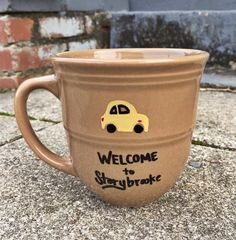 Coffee Mug Coffee Cup Once Upon A Time Welcome by Useless2Unique