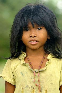 Nina de Angkor, Camboya. © Inaki Caperochipi Photography