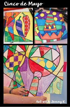 Art projects for kids to create during Cinco de mayo.