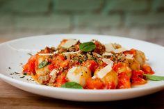 Nhoque de batata-doce é pura saúde. Releitura de prato italiano é sucesso na dieta