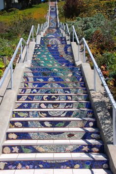 Gorgeous, Expansive Public Art: 163 Tiled Steps in San Francisco   Jeannie Huang