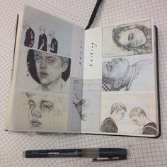 Naomi Hosking inspiration page - beautiful illustrations