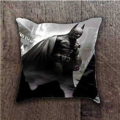 BATMAN ARKHAM CITY BATTLE ACTION BATHROOM PILLOWS