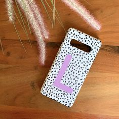 Lilac Personalised Dalmatian Phone Case - Samsung S20