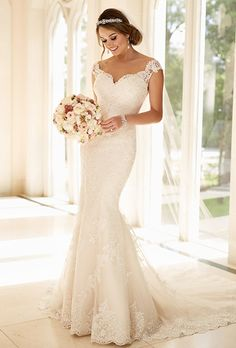 Stella York wedding dresses stocked by Fross Wedding Collections. View our bridal boutique's range of Stella York bridal gowns. 2016 Wedding Dresses, Wedding Attire, Bridal Dresses, Wedding Gowns, Princess Wedding Dresses, Lace Wedding, Trendy Wedding, Wedding Vintage, Elegant Wedding