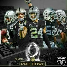 0a94e422e Oakland Raiders in the 2016 Pro Bowl