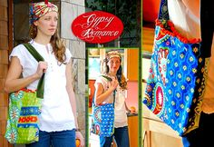 Gypsy Romance: Boho Shoulder Bag diy... http://sew4home.com/projects/storage-solutions/843-gypsy-romance-boho-shoulder-bag