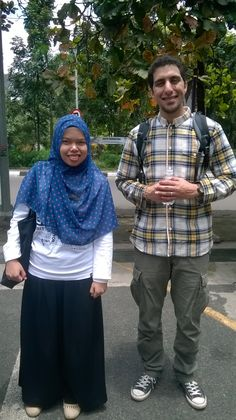 Me and my awesome brother Raef :)