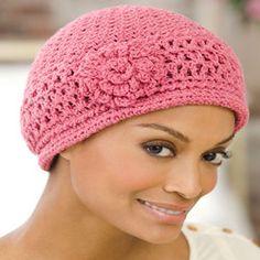 Chemo Cap - Redheart Crochet pattern