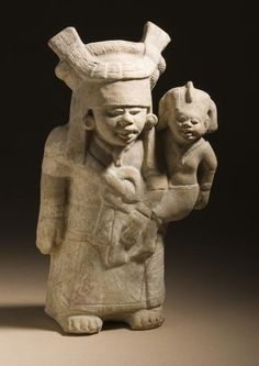 Aleyma: Nopiloa culture of Mexico, Mother and Child, 600-900... | NeoMexicanismos | Bloglovin'