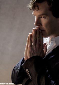 "nixxie-fic: ""Edit - Sherlock in 'The Final Problem' - (x) Click here for more Sherlock S4 Edits: (Sherlock at Christening) (Freckly Mycroft) (John in 221B) (John close-up) (Sherlock's back) (Sherlock anguished) (Molly & John) (John by the ambulance)..."