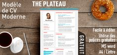 The Plateau is a free modern resume template with a fresh style and a colorful typography. This layout style will clearly present your resume. For MS Word. Free Cv Template Word, Free Printable Resume Templates, Microsoft Word Resume Template, Resume Template Examples, Simple Resume Template, Resume Design Template, Creative Resume Templates, Templates Free, Resume Fonts
