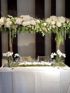 #weddingflowers #flowers #elegantweddingideas #toptable #hydrangeas #peonies #orchids #weddingflowers #kefalonia My Wedding Planner, Beautiful One, Our Wedding Day, Event Styling, Hydrangeas, Amazing Flowers, Fairy Lights, Peonies, Orchids