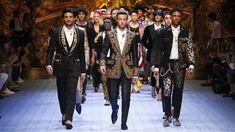 053aec835c640 Dolce amp Gabbana Spring Summer 2019 Men s Fashion Show - YouTube Dolce    Gabbana