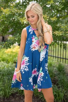 This Love I've Found Floral Dress