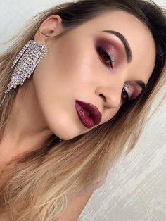 Σκουλαρίκια statement με κρεμαστές πέτρες σε σχήμα καρδιάς Septum Ring, Lipstick, Makeup, Earrings, Beauty, Jewelry, Make Up, Ear Rings, Lipsticks