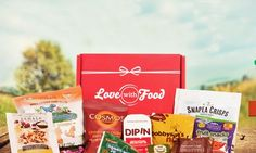 A 3-month deluxe box subscription - Love With Food