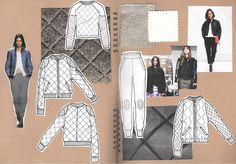 Fashion Sketchbook - fashion drawings; fashion design process; fashion portfolio // Alexandra Canter