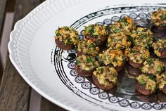 Stuffed Mushrooms! Made these last night! The were awesome and healthy!