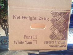 Puna Yam 25 Kgs