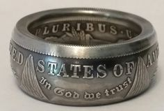 How to Make a Silver Morgan Dollar into a Coin Ring (abridged) Full vers...