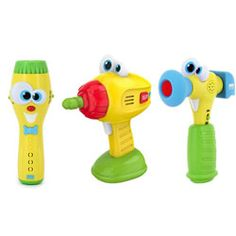 Kidz Delight Drill, Hammer, and Flashlight