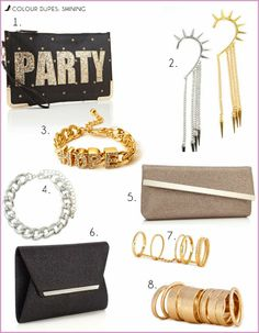 http://www.fashiondupes.com/2013/12/12-colour-dupes-50-shades-of-shining.html #colour #christmas #shine #shining #metallic #gold #silver #newyear #festive #holidays