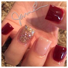 Christmas Nails CLICK.TO.SEE.MORE.eldressico.com