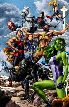 #Avengers #Fan #Art. (AVENGERS) By: Jay Anacleto. (THE * 5 * STÅR * ÅWARD * OF: * AW YEAH, IT'S MAJOR ÅWESOMENESS!!!™) ÅÅÅ+