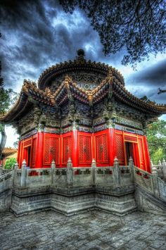 The Temple in Beijing within the Forbidden City Travel and Photography from around the world. Places Around The World, The Places Youll Go, Places To See, Around The Worlds, Beautiful World, Beautiful Places, Buddhist Temple, China Travel, Place Of Worship