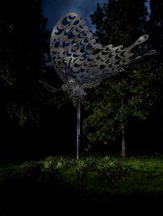 Pekka Jylhä: Broken Wings, 2010 Broken Wings, Public Art, Dandelion, Collections, Flowers, Dandelions, Taraxacum Officinale, Royal Icing Flowers, Flower