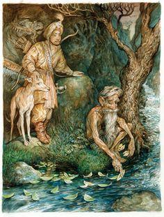The Brown Fairy Book   Folio Illustrated Book