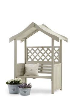 Relaxing in the garden just got a whole lot more enjoyable with this Salisbury Arbour seating furniture. Pop in the corner in your garden and invite the friends over to give it a test ride.