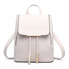 Brand: Z-joyee Material: PU leatherBackpack Dimension: 24*30*16cm/9.45*11.8*6.3in (W*H*D)Function: BackpackInterior: 1 x main pocket 1 x zipper pocket 2 x mini pocket Weight: 24.7oz Please allow lit...