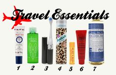 Beauty products to pack for traveling