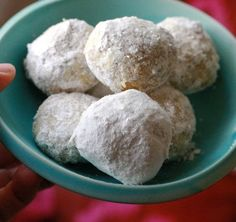 Italian Wedding Cookies (AKA Russian Tea Cakes or Snowballs) Recipe. This DELICIOUS and EASY classic Christmas cookie deserves a spot on your homemade plate of desserts this year. You'll love that they are make ahead friendly and freezer friendly, so make a batch in advance and freeze them today!
