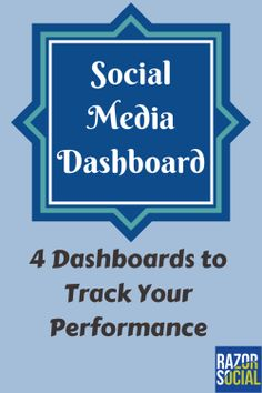 social media dashboard: 4 dashboards to track social media performance
