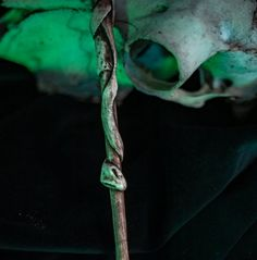 #accessories #costumeaccessories #wands #wand #witch #bones #spell #necronomicon #magicwand #wizard #harrypotter #ollivanders #deatheater #larp #skullwand #wizardcosplay Evil Fairy, Harry Potter Decor, Gothic Fairy, Star Magic, Dark Gothic, Larp, Occult, Have Time, The Magicians