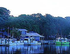 Safe Haven by Nicolas Sparks  Southport, North Carolina