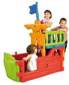 ECR4Kids Pirate Ship Climbing Structure by ECR4Kids, http://www.amazon.com/dp/B005I2GCXY/ref=cm_sw_r_pi_dp_Huprrb0H35VPM