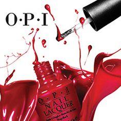 Coca-Cola and OPI partner to create Coca-Cola inspired nail polish Nail Polish Trends, Opi Nail Polish, Opi Nails, Nail Lacquer, Nail Trends, Opi Colors, Nail Logo, Beauty And Fashion, Manicure Y Pedicure
