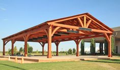 Shop online for Pavilions at Forever Redwood. Hand-crafted Del Norte Outdoor Kitchen Pavilion available in custom sizes, shapes, and wood grades.