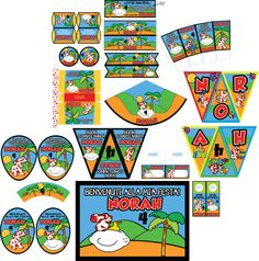 http://www.printnfun.com/store/p217/La_Pimpa_Party_Printables_Package.html #LaPimpa #festastampabile #pimpa #compleanno #inviti #PartyPrintables #Package