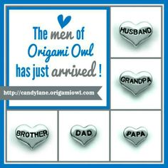 For the Charming Men in our lives ~~ Origami Owl