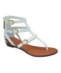 White Chelsi Sandal