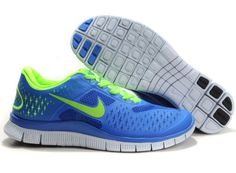wholesale dealer 577dc 3bf4d Mens Nike Free 4.0 V2 Game Royal Blue Teal Turquoise Electric Green Pure Running  Shoes Tauranga