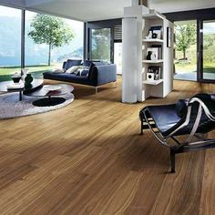 Attractive Appearance of Bamboo Flooring Ideas In the Bedroom, Bathroom, Kitchen & Living Room Diy Wood Floors, Wood Parquet, Diy Flooring, Flooring Options, Hardwood Floors, Flooring Ideas, Living Room Wood Floor, Wood Floor Kitchen, Living Room Kitchen