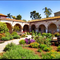 The Mission Courtyard, San Juan Capistrano, CA