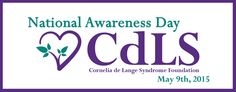Learn more about Cornelia de Lange Syndrome (CdLS) Foundation - it may save a life