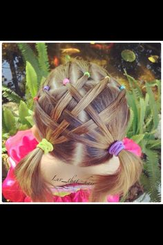 Quick and easy hair style for little girls